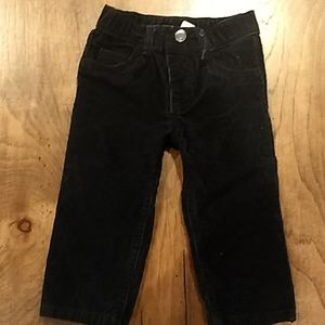 Carter's 12 month black corduroy pants